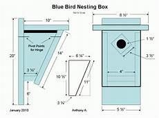 eastern bluebird house plans free eastern bluebird house plans bluebird nest box plans
