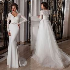 Two In One Wedding Gowns 10 convertible two in one wedding gowns that will