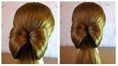 tuto coiffure simple et rapide le noeud papillon facile 224