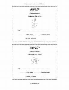 rsvp card template rsvp card template free printable allfreeprintable