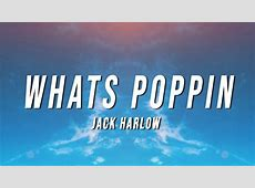 jack harlow whats poppin song