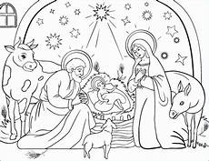 printable nativity coloring pages at getcolorings