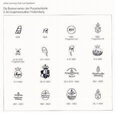 bavaria porzellanstempel katalog porselein merktekens fabrikanten uitgifte produktie
