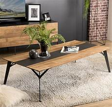 Table Basse Industrielle Bois Recycl 233 Panama Tables