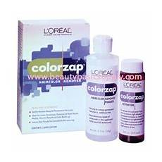 L Oreal Colorzap Hair Color Remover Lorealhair Skin