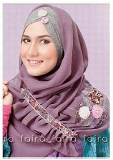24 Gaya Model Jilbab Terbaru Ayeey