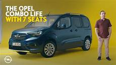 opel combo with 7 seats