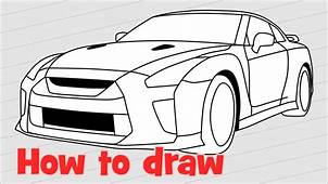Fast Cars Drawing At GetDrawingscom  Free For Personal