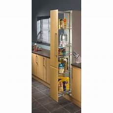 Kitchen Unit Accessories Uk by 300mm Pull Out Larder Unit Centre Mounting 1950 2200mm