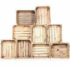 caisse en bois vintage lot de 9 caisses anciennes