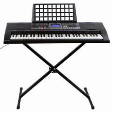 Electronic Piano 61 Key Key Board Piano Lcd Display