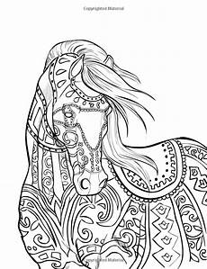 the magical world of horses adult coloring book pin by grammy fran on horses horse coloring pages