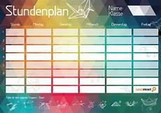 dein trendiger stundenplan zum ausdrucken 187 saxoprint