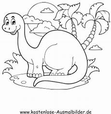 ausmalbilder kleiner dinosaurier tiere zum ausmalen