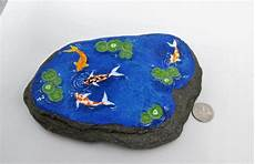 kio pond stone painted rock large stone zen garden home decoration paperweight