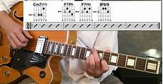 cool guitar chord progressions jazz guitar lessons