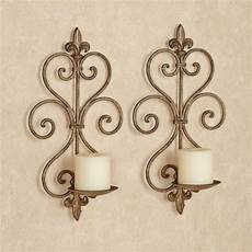 charles wrought iron wall sconce pair iron wall sconces