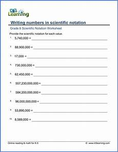composition worksheets for grade 6 22713 grade 6 math worksheet scientific notation writing numbers in scientific notation harder