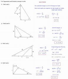 math plane notes sine cosine and tangent reciprocals and inverses