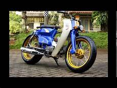 Modifikasi Motor Pitung by Motor Trend Modifikasi Modifikasi Motor Honda C70 Si