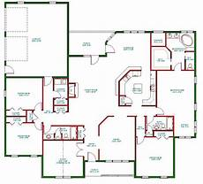 house plans single level traditional ranch house plan d65 3067 the house plan site
