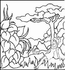 maedchen in landschaft ausmalbild malvorlage kinder