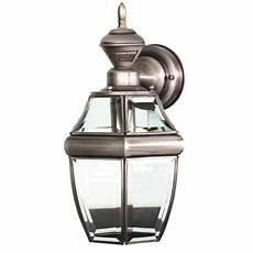 antique silver 14 1 2 quot dusk to dawn motion sensor wall light casa mia outdoor wall lighting