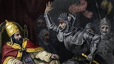 In 1303 The King Sent Goons To Attack And