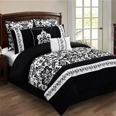alisia 8 piece comforter jcpenney black white rooms damask pinterest