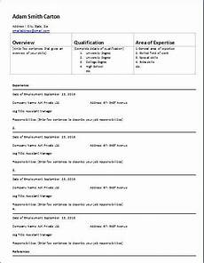 employment history form template at wordtemplatesbundle com microsoft templates sle