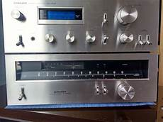 Pioneer Sa 508 Lifier And Tx 608 Tuner Blue Line Real