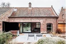Synergy Of Contrasting Styles Farmhouse Renovation In Belgium