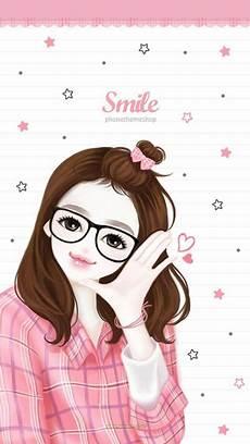 Paling Hits 30 Gambar Kartun Korea Wanita Cantik Berkacamata