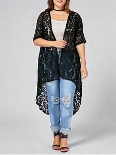 pin by brandy pereira on plus size lace crochet long open front cardigan knit
