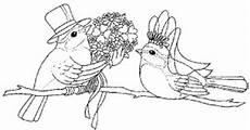 vogelhochzeit ausmalbild malvorlage hochzeit