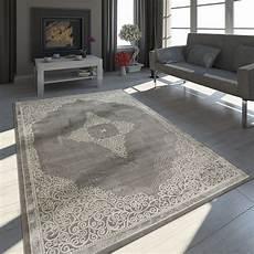 tapis moderne effet 3d d 233 corations chin 233 gris