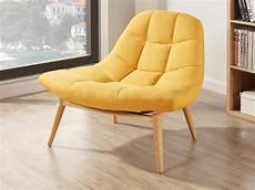 fauteuil tissu pas cher fauteuil scandinave en tissu et 3 coloris tendances kribi