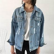 2018 basic coat denim jacket winter denim