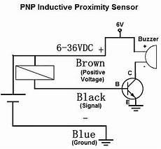 inductive proximity sensor circuit circuit arduino diagram