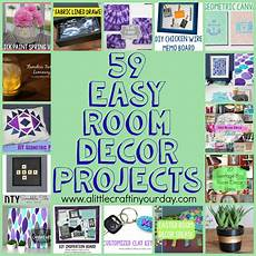 cool easy crafts for your room 59 easy diy room decor projects a little craft in your day