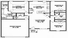 single floor 3 bhk house plans 3 bedroom ranch floor plans 3 bedroom one story house