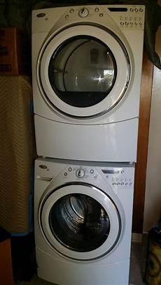 whirlpool duet washer dryer set in simms garage sale