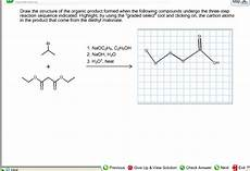 solved draw the structure of the organic product formed w chegg com