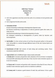 science worksheets for grade 7 igcse 12201 cbse class 7 science chapter 9 soil revision notes