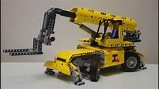 lego technic 42009 c model telehandler