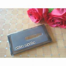 jual silikon soft case microsoft nokia lumia 800 n 800 hitam shira shop shira mysha