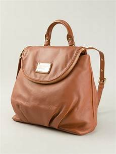 lyst marc by marc classic q backpack in brown