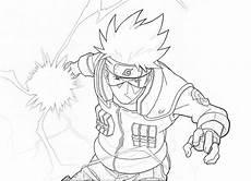 Sketsa Gambar Animasi Untuk Diwarnai Guru Kakashi