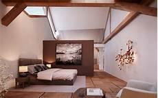 Schlafen Im Wohnzimmer - die sch 246 nsten ideen f 252 r ein schlafzimmer im dachgeschoss