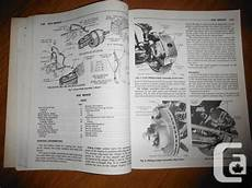 1978 Mopar Shop Manual Dodge Charger Plymouth Fury Volare